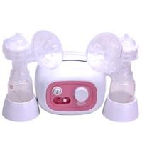 Máy hút sữa điện đôi Hàn Quốc BPA free Unimom Forte có massage silicone UM880038